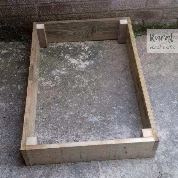 Wooden raised bed 60x90cm