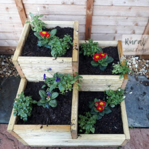 Wooden Troughs and Planters