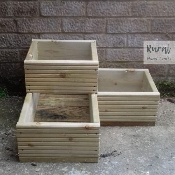 corner trough planter