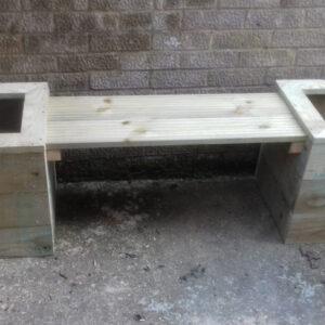 Planter bench