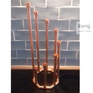 copper pipe large candelabra